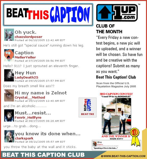 Beat This Caption Club