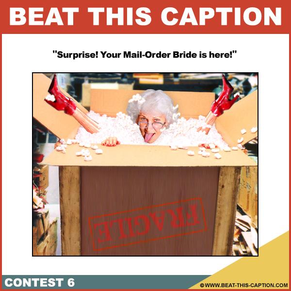 Beat This Caption Contest 6