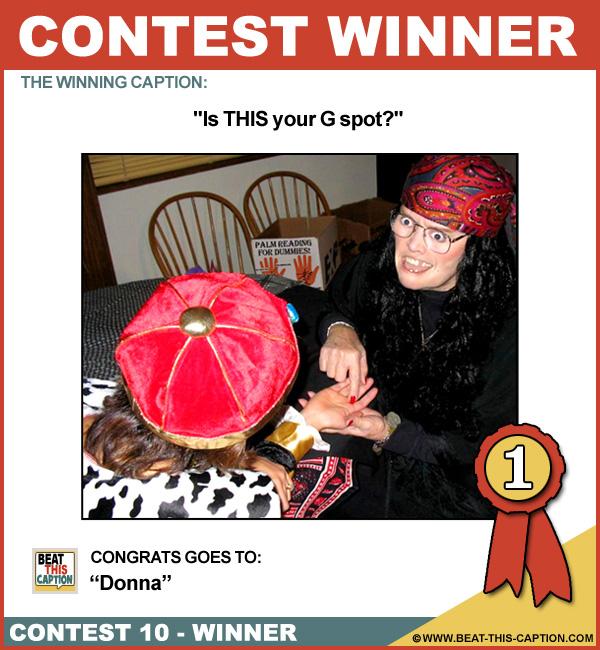 Beat This Caption Contest 10 Winner