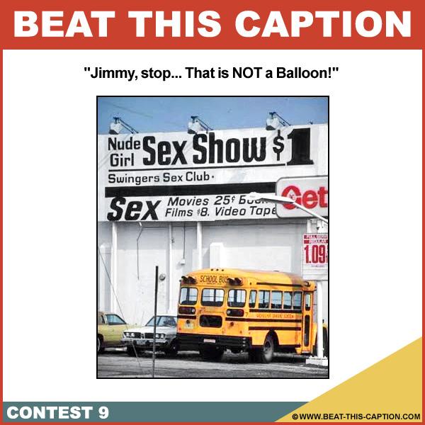 Beat This Caption Contest 9
