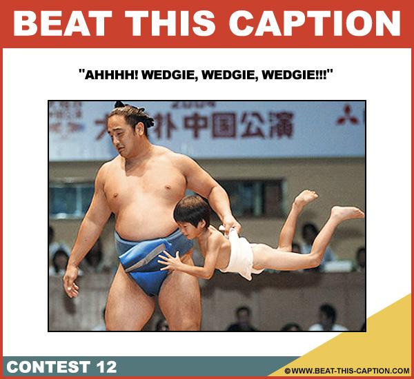 Beat This Caption Contest 12