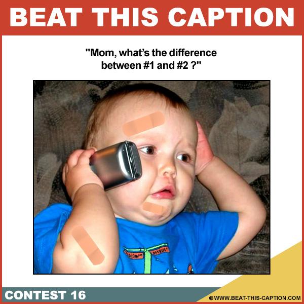 Beat This Caption Contest 16