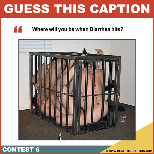 Guess This Caption Contest 6 Winner