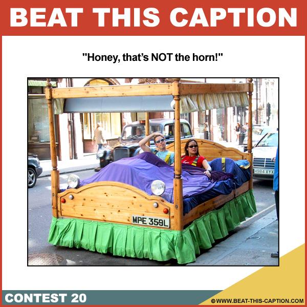 Beat This Caption Contest 20