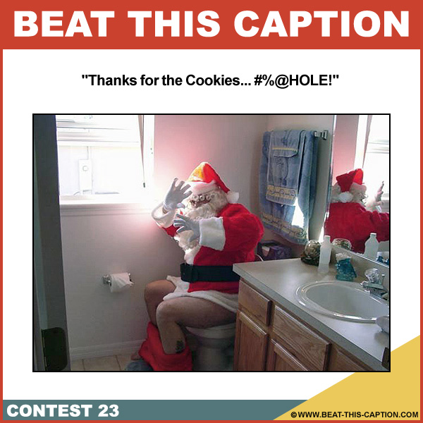 Beat This Caption Contest 23