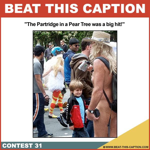 Beat This Caption Contest 31