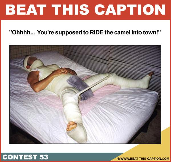 Beat This Caption Contest 53
