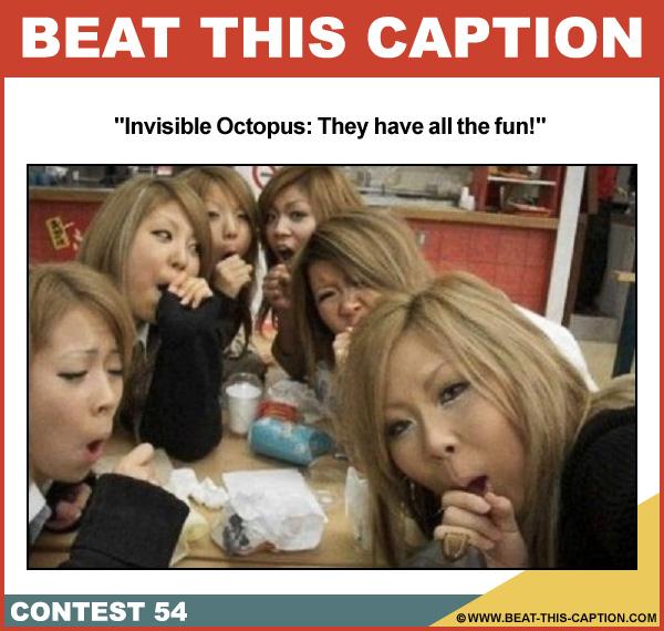 Beat This Caption Contest 54