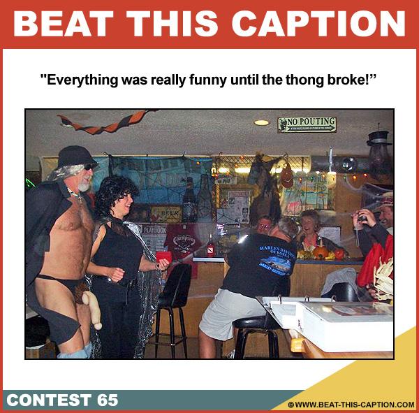Beat This Caption Contest 65