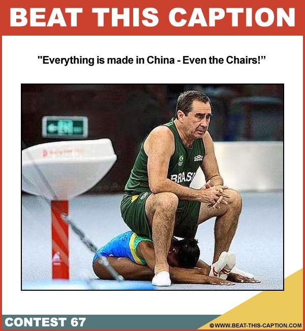 Beat This Caption Contest 67