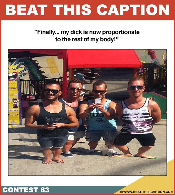 Beat This Caption Contest 83