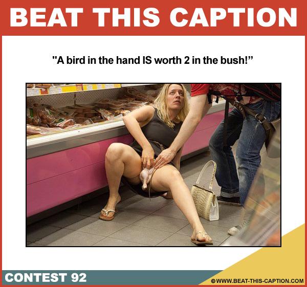 Beat This Caption Contest 92