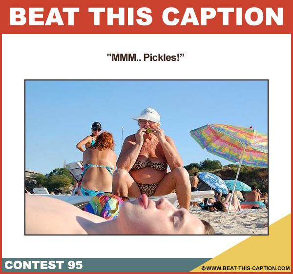 Beat This Caption Contest 95