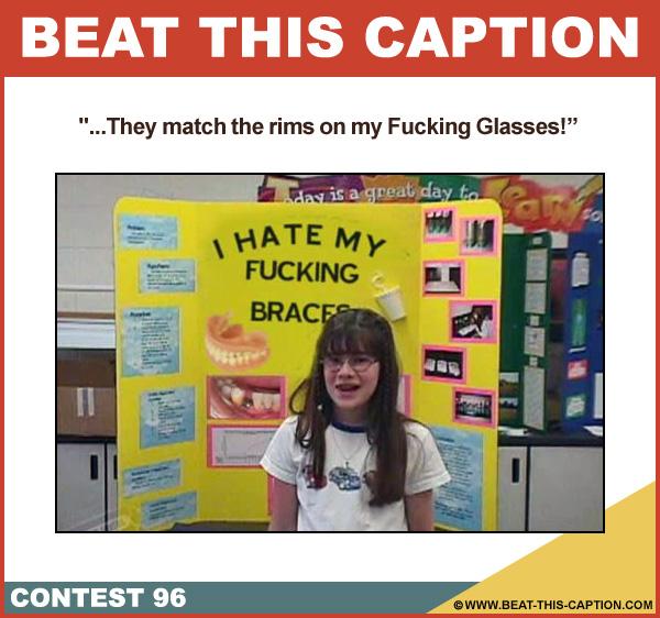 Beat This Caption Contest 96