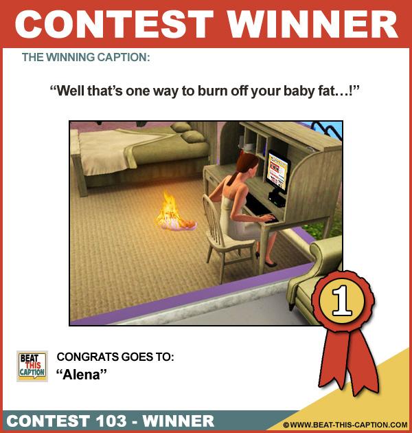 Beat This Caption Contest 103 Winner