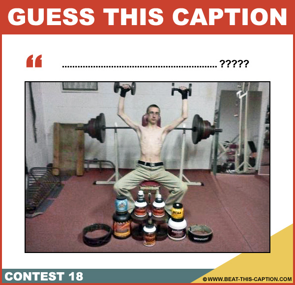 Guess This Caption Contest 18