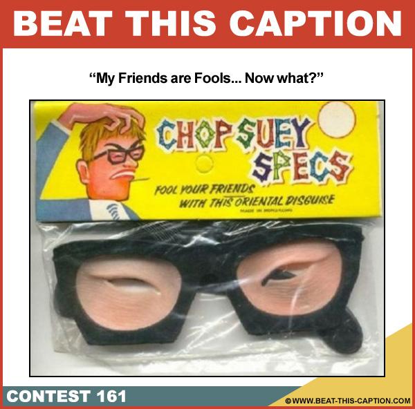 Beat This Caption Contest 161