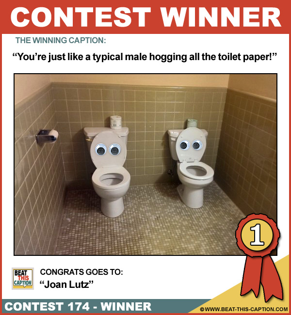 Beat This Caption Contest 174 Winner