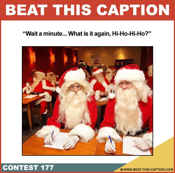 Beat This Caption Contest 177