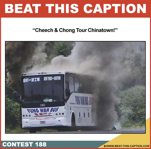 Beat This Caption Contest 188