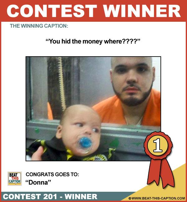 Beat This Caption Contest 201 Winner