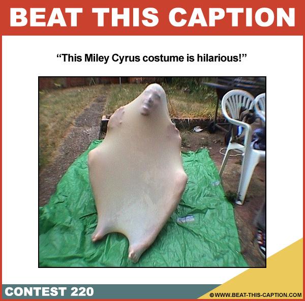 Beat This Caption Contest 220